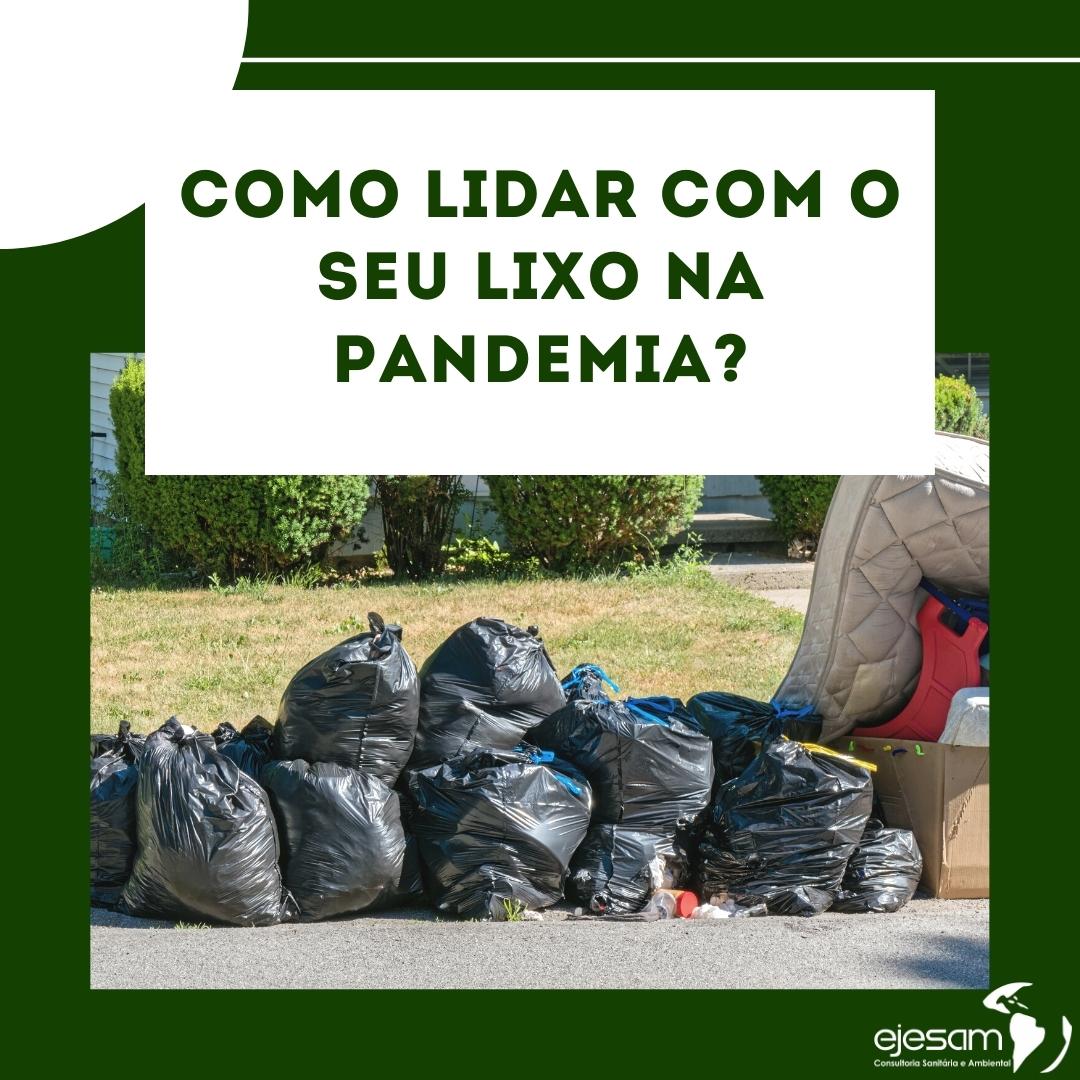 Lixo e Coronavírus